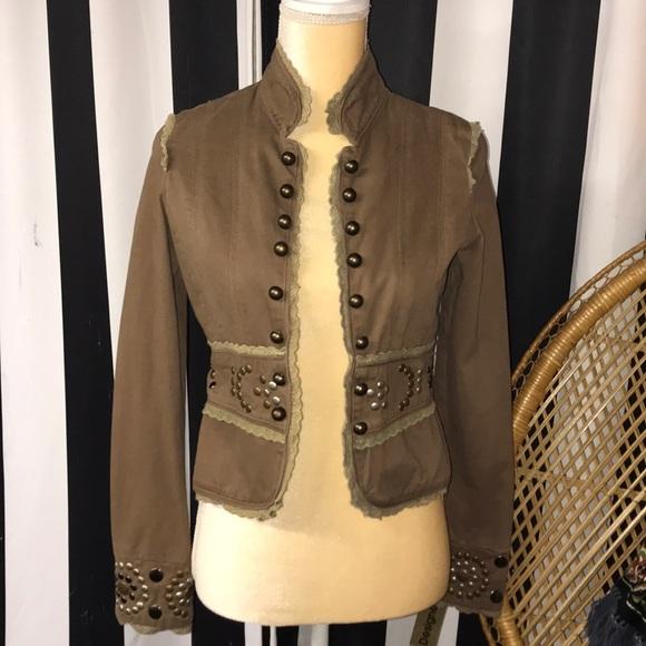 Miss Me Jackets & Blazers - Miss Me studded jacket